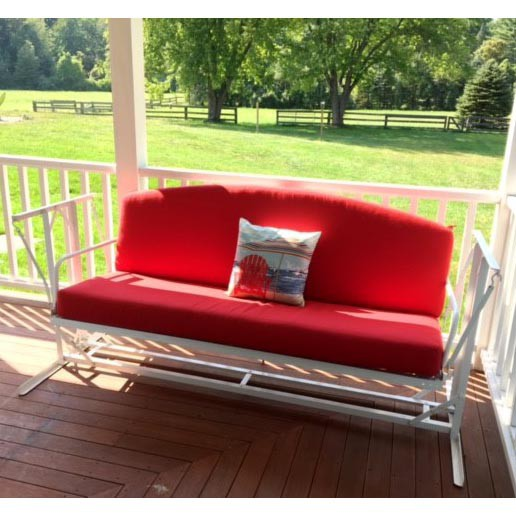 Custom Outdoor Glider Porch Swing Cushions Porch Swing Cushions Outdoor Swing Cushions Outdoor Patio Set