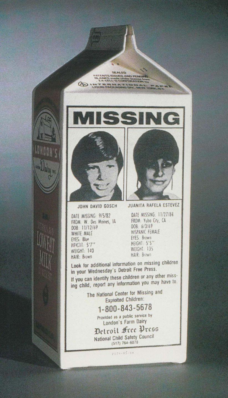 Missing Child Milk Carton Template : missing, child, carton, template, First, Child, Appear, Carton, Still, Missing, Carton,, Milk,