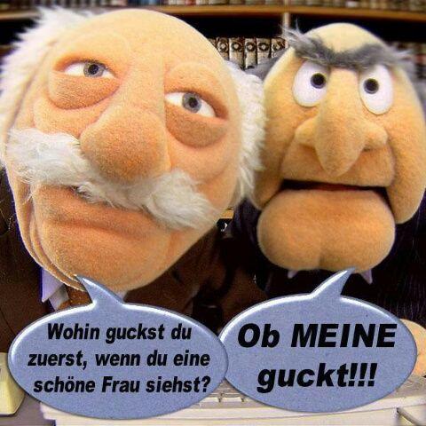 Muppets Balkon Opas Namen