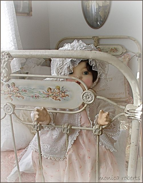 antique french lit de b b crib cot and vintage doll e n f a n t d 39 h i e r pinterest. Black Bedroom Furniture Sets. Home Design Ideas