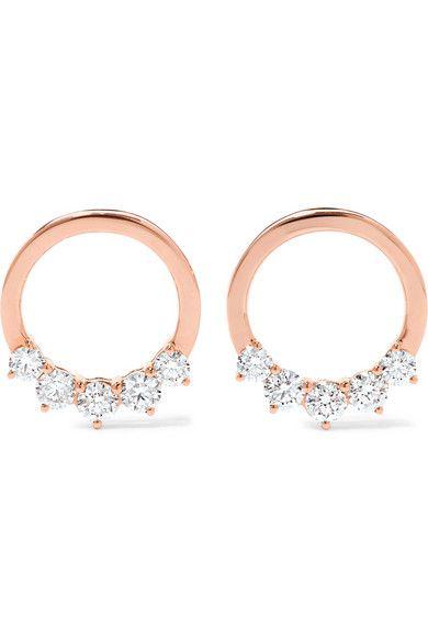 Luxe 18 Carats Rose Brassard Oreille Diamant Or - Taille Anita Ko uLUOiBNiP