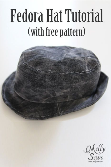 8ad135bac8e fedora-hat-pattern-byMellySews Can t wait to make this for my little man!