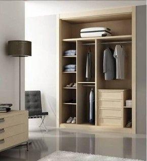 Best 25 interior armario empotrado ideas on pinterest for Ideas interior armario