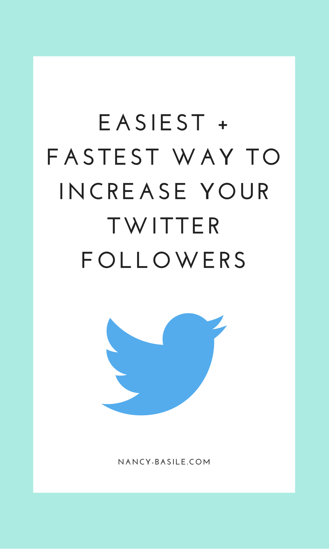 Easiest and Fastest Way to Increase Twitter Followers