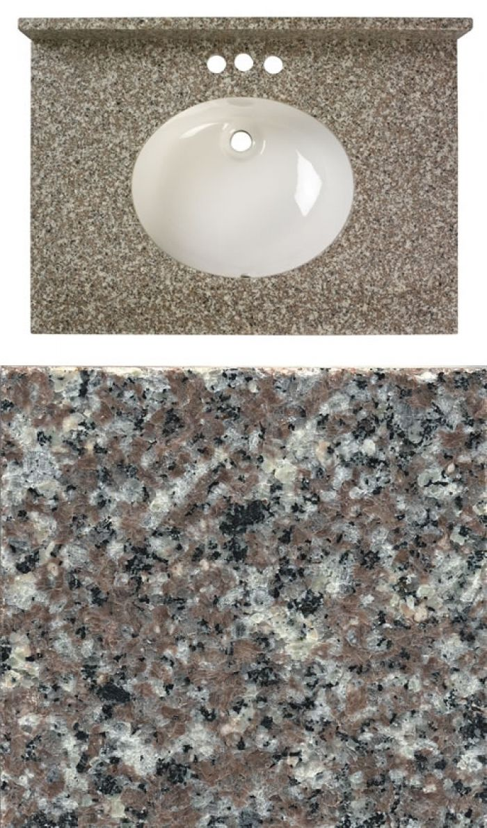 Rynone Burlywood Granite Master Bathroom Pinterest