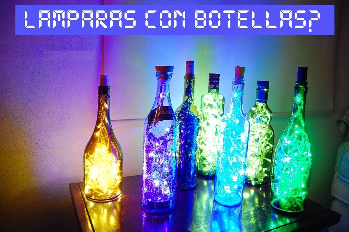 Lamparas Con Luces Led