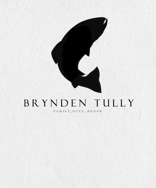  ASOIAF:Minimalist Character Posters  Brynden Tully