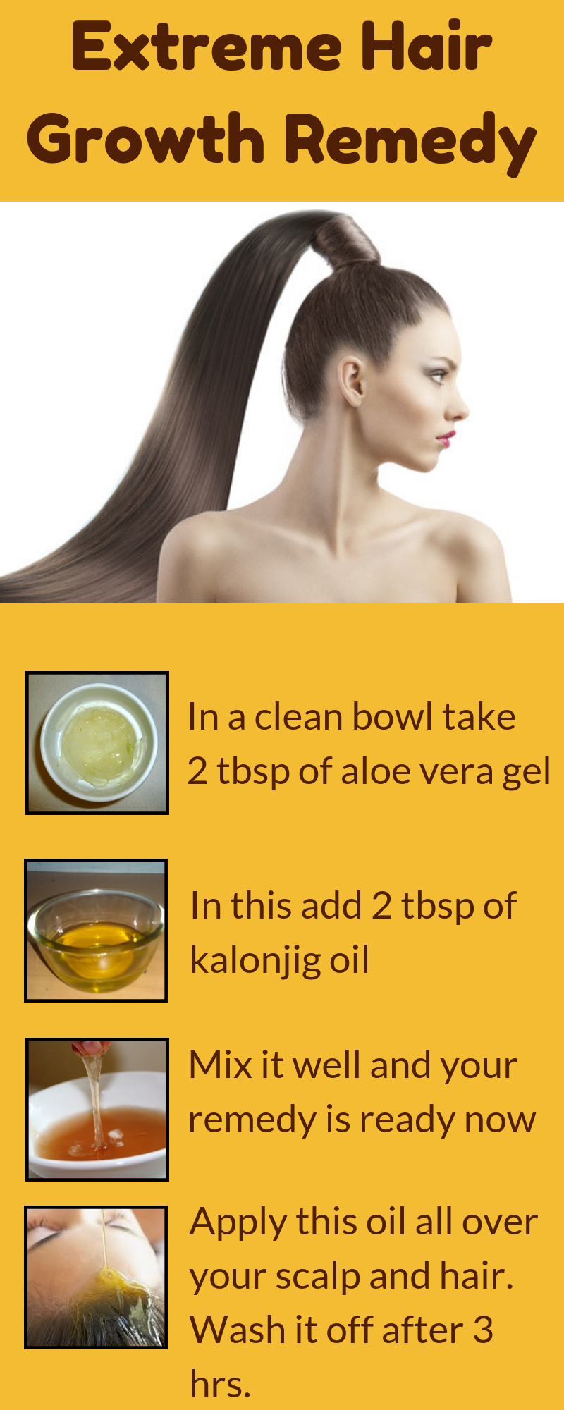 Simple Remedy That You Must Follow To Get Fast Hair Growth In No Time Longhair Healthygai Extreme Hair Growth Hair Remedies For Growth Homemade Hair Products