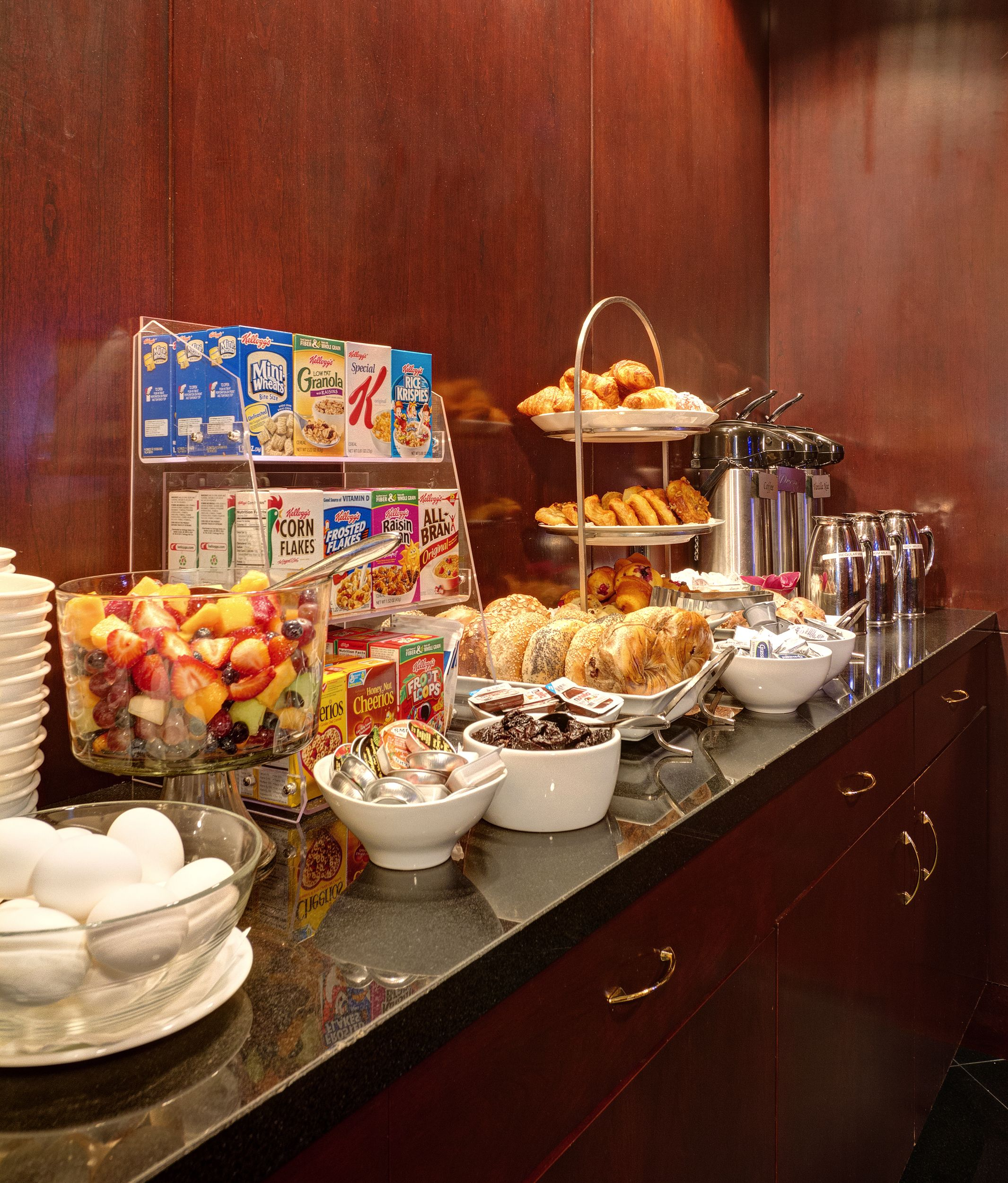 Complimentary Breakfast At The Library Hotel Monday Friday From