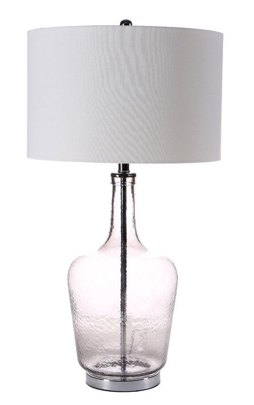 81cm Table Lamp Showcasing A Transpa Bottle Structured