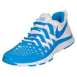 half off 45fc2 c2916 Men s Nike Free Trainer 5.0 Cross Training Shoes   FinishLine.com    White Blue Hero