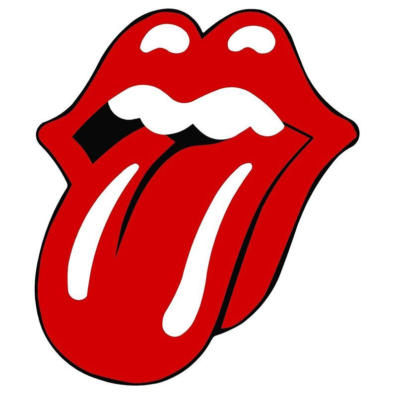 Rolling Stones Tongue Vynil Car Sticker Decal 2 5 Etsy Rolling
