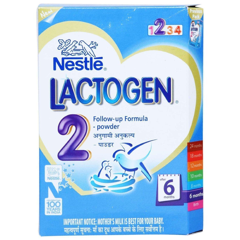 Nestle lactogen stage 2 after 6 months followup formula
