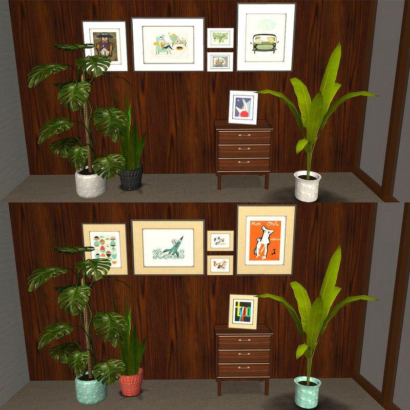 Sims 2 Arts & Plants by riekus13