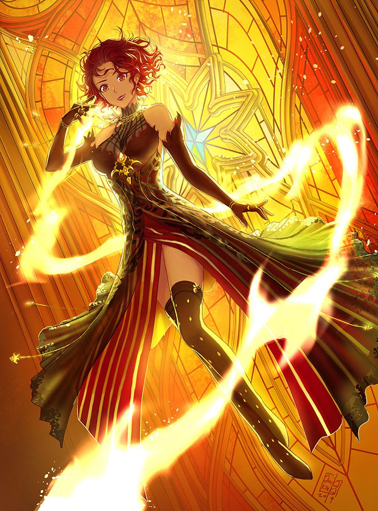 Queen Of Fire Ii By Anikakinka On Deviantart Queen Of Fire Fire
