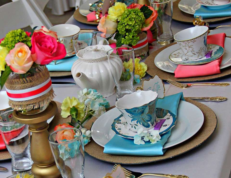 "Tea Party / Bridal/Wedding Shower ""A Bridal Tea"" 