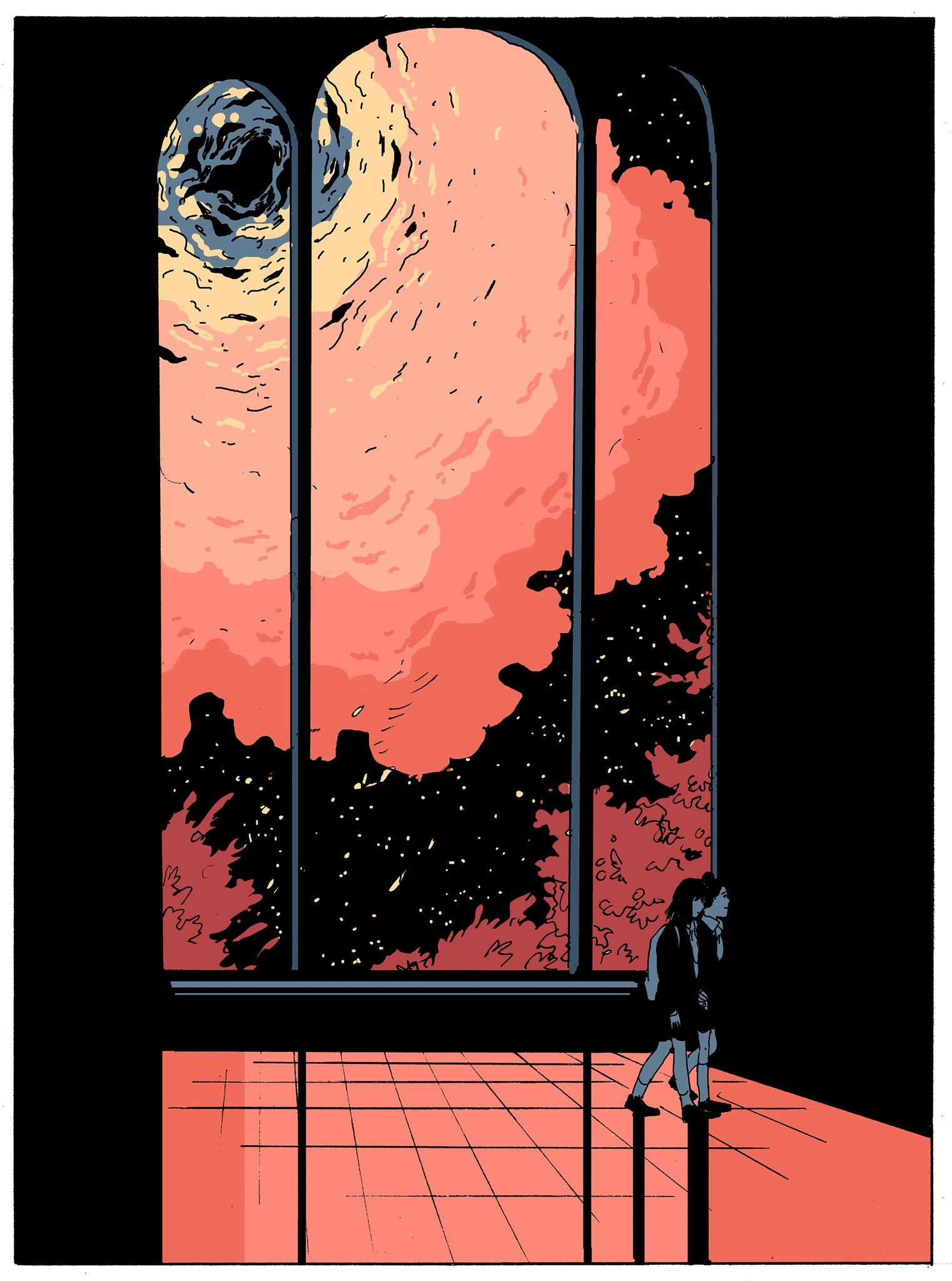 Tillie Walden on | Aesthetic art, Art drawings, Cool art
