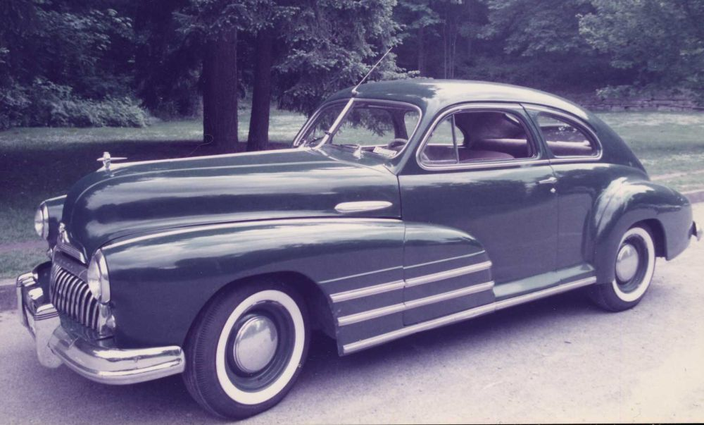 My 1947 Buick 2-dr Sedanette. 1984-1992 | Art of All Types ...