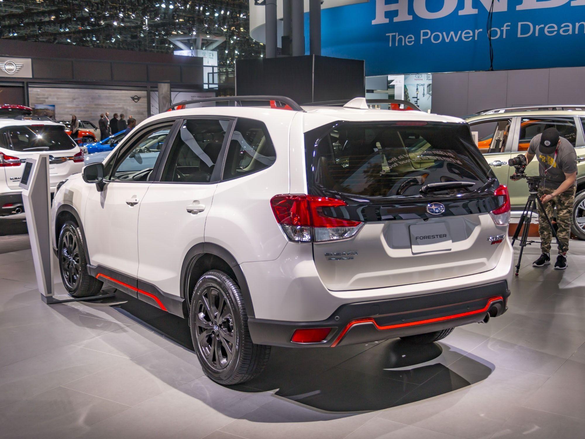 2019 Subaru Sports Exterior And Interior Review Car Review 2018 Subaru Forester Subaru Sport Subaru Xt