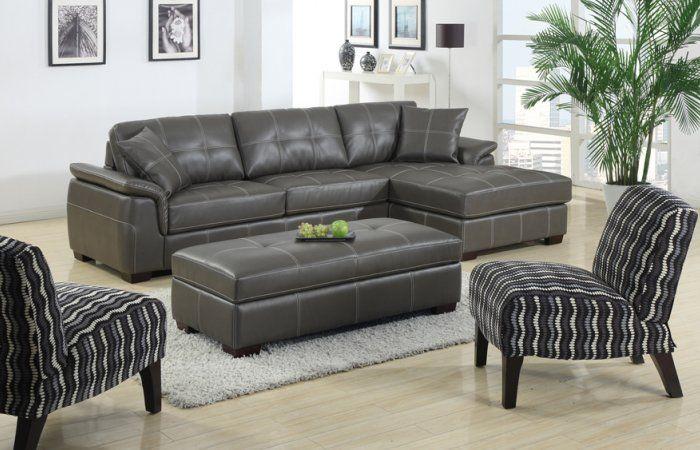 Modern Manhattan Sofa With Storage Ottoman And Designer
