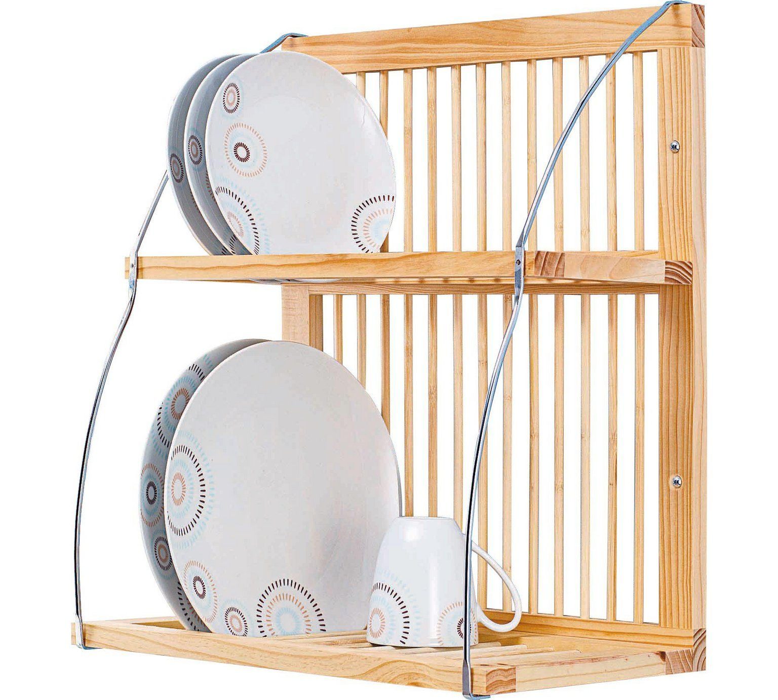 Buy HOME Wood and Metal Plate Rack at Argos.co.uk visit Argos  sc 1 st  Pinterest & Buy HOME Wood and Metal Plate Rack at Argos.co.uk visit Argos.co.uk ...