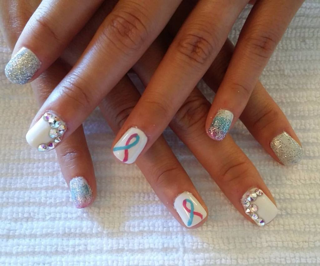 In honor of pregnancy and infant loss awareness month. | Nails ...