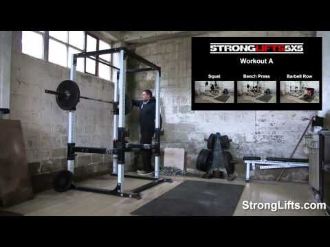 StrongLifts 5x5 The Simplest Workout To Get Stronger Food stuff