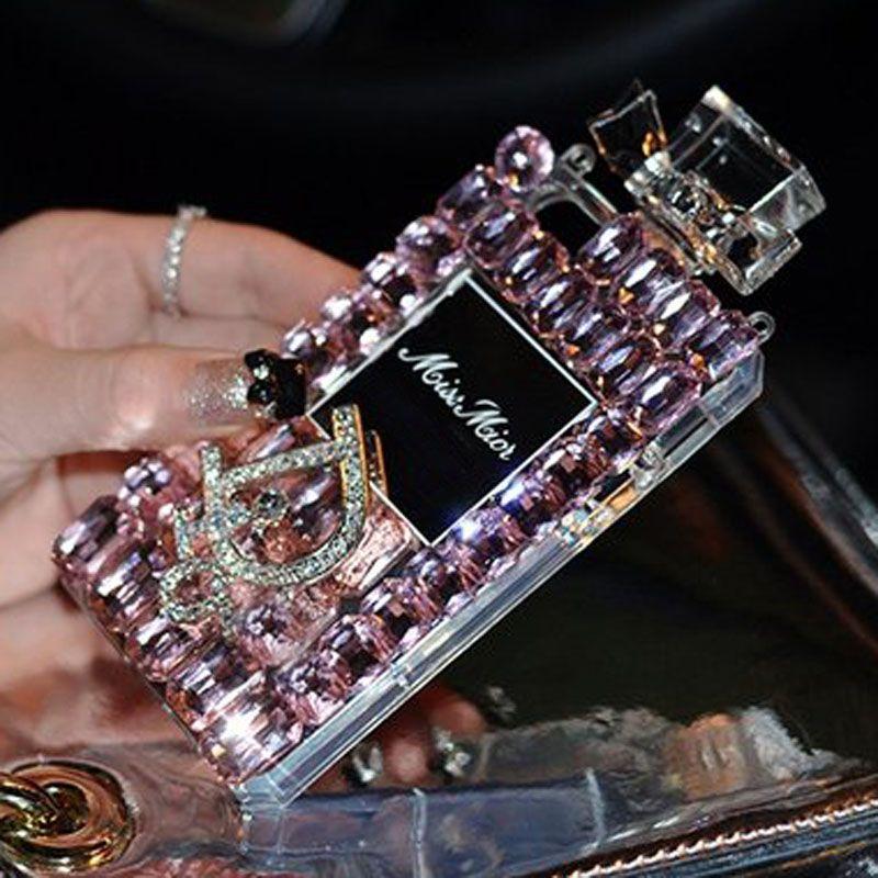 perfume CASE Bling Diamond coque silicon Case For Samsung Galaxy ...