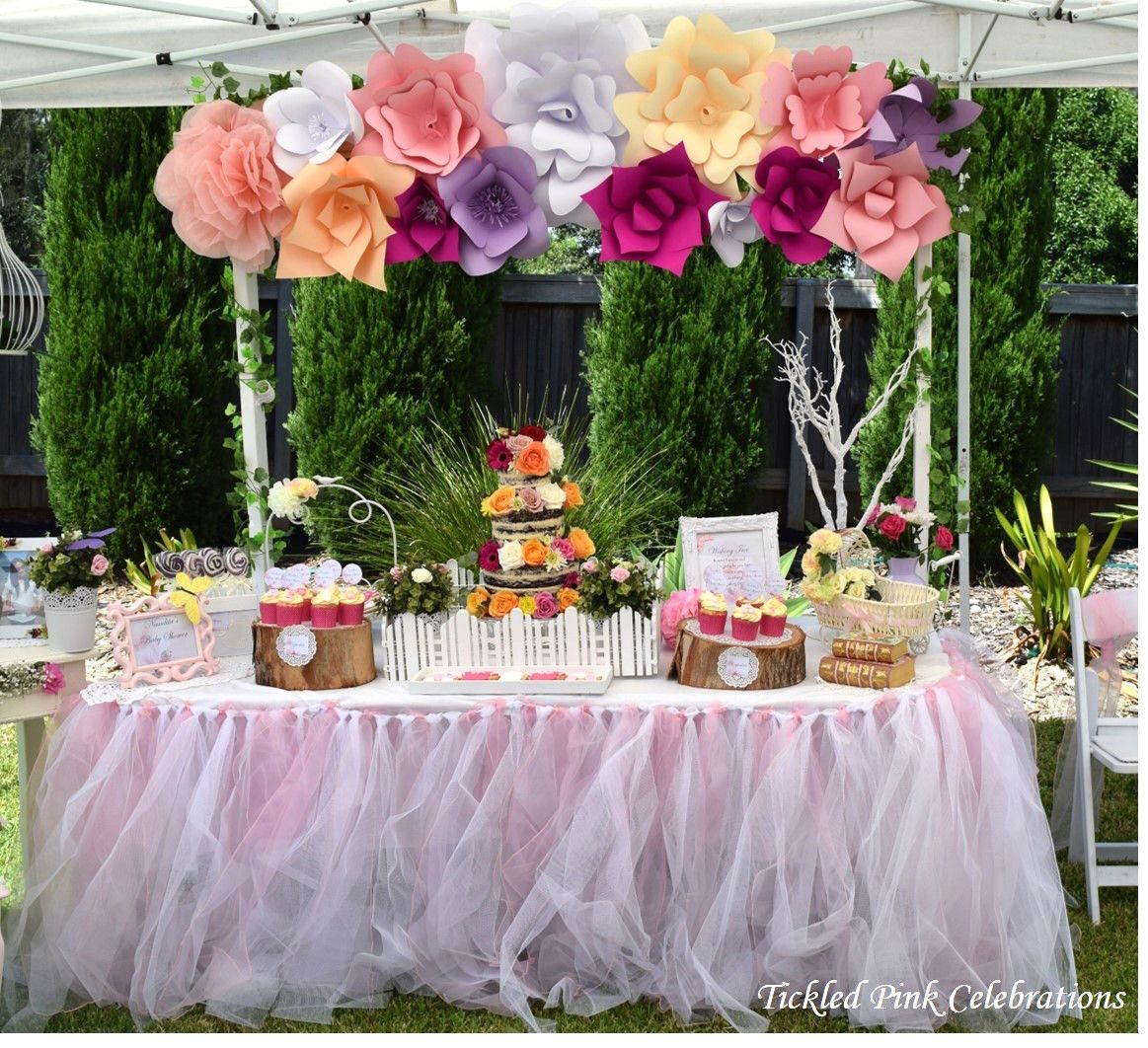 little wish parties enchanted garden baby shower httpslittlewishpartiescom