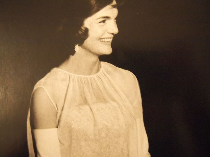 First Lady Jacqueline Kennedy.