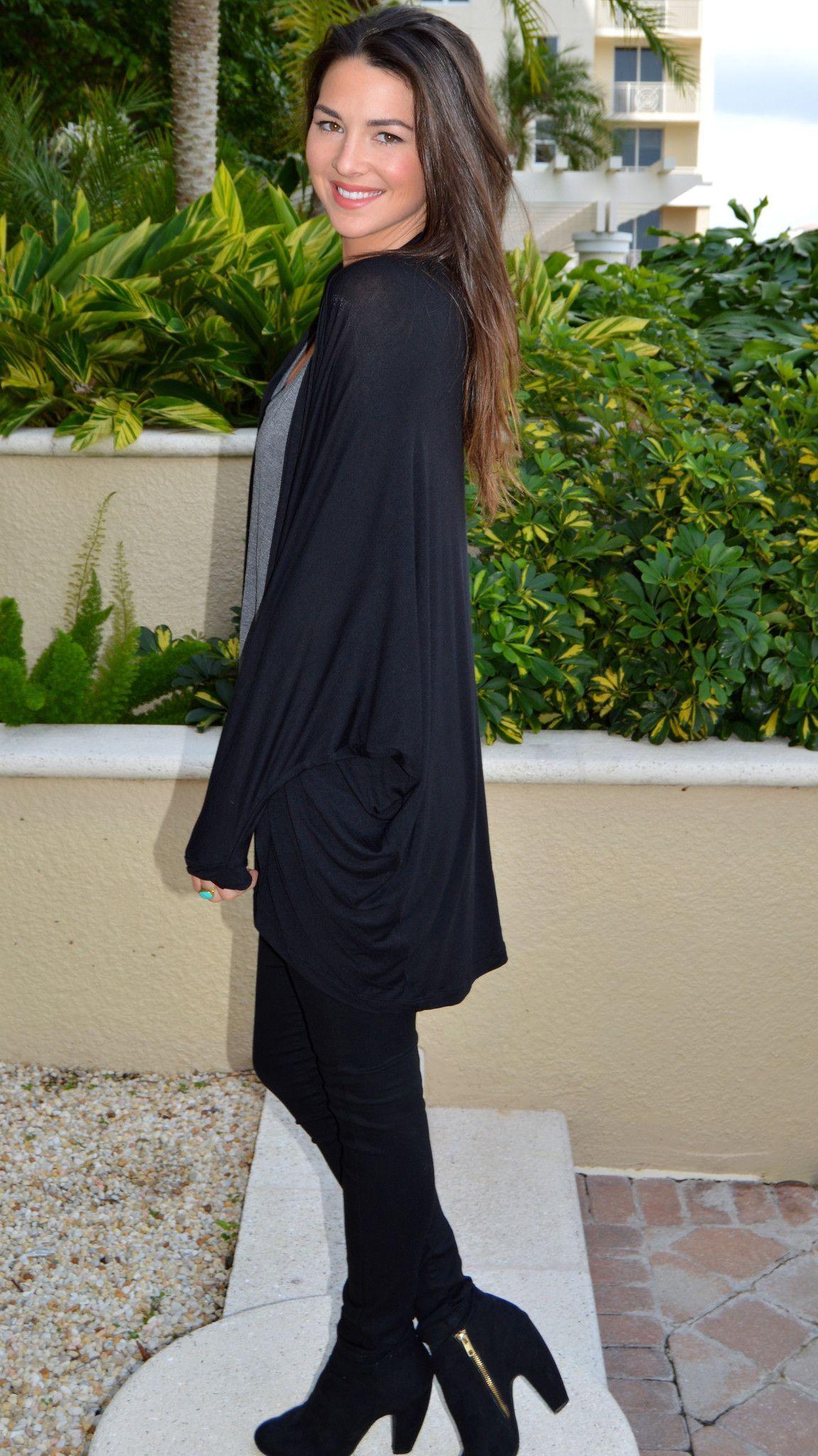 Black Widow Kimono Cardigan | Style | Pinterest | Kimonos, Fall ...