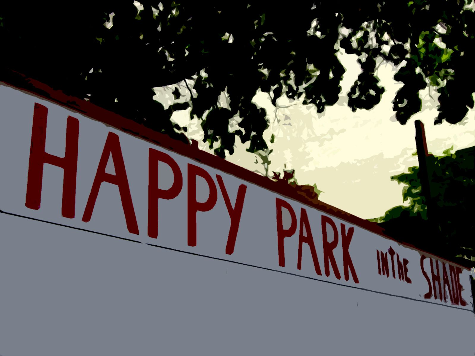 Happy Park In The Shade