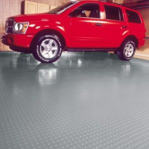 Coin Pattern Garage Floor Protection