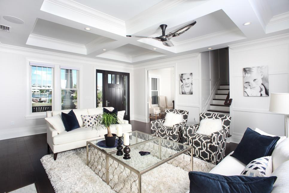 Bright Design Ideas For Living Room Lighting Hgtv Living Room Design Decor Eclectic Living Room Modern White Living Room