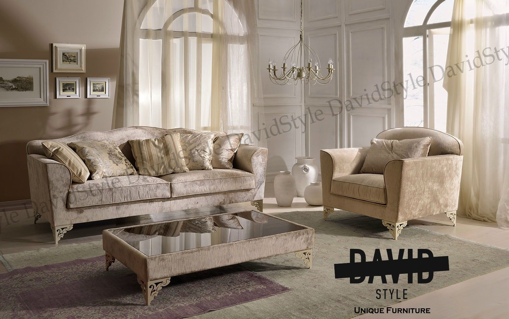 Salotto classico moderno #classiclivingroom #classicsofamadeinitaly ...