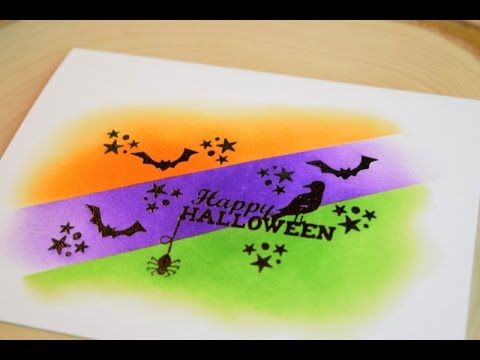 Halloween Card Series featuring Newton's Nook Designs Spooky Street - YouTube