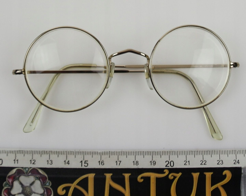 Antyk Okulary Lenonki 7898070186 Oficjalne Archiwum Allegro Glasses Glass Round Glass