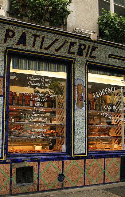 Rue des Rosiers . Jewish Specialties