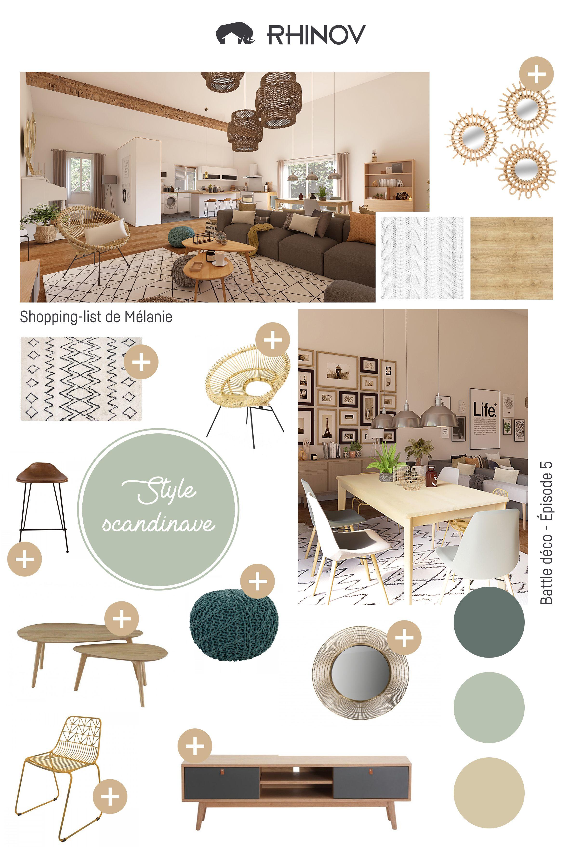 Shopping List Style Scandinave Deco Salle De Sejour Mobilier De Salon Idees De Decor