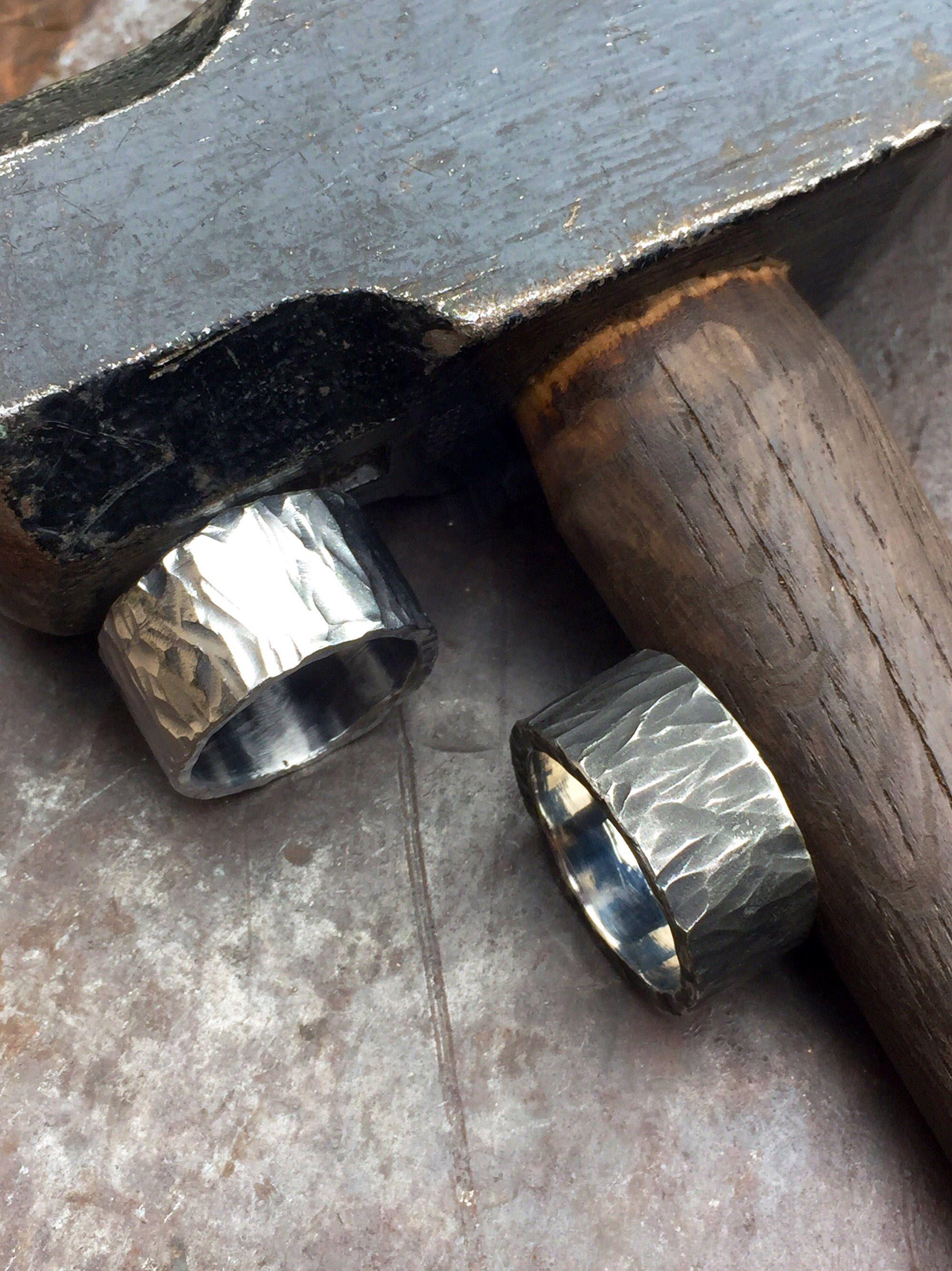 Mens Work Safe Wedding Rings