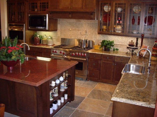 Red Dragon Granite Countertops Red Kitchen Cabinets Granite Countertops Countertops