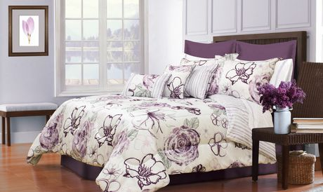 Safdie Co Home Deluxe Collection Purple 100 Polyester