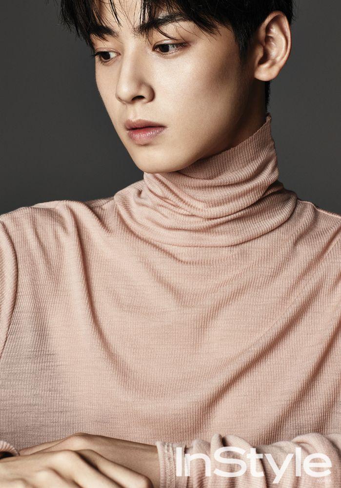 Cha Eunwoo Instyle Jpg 699 1000 Selebritas Idol Rocky