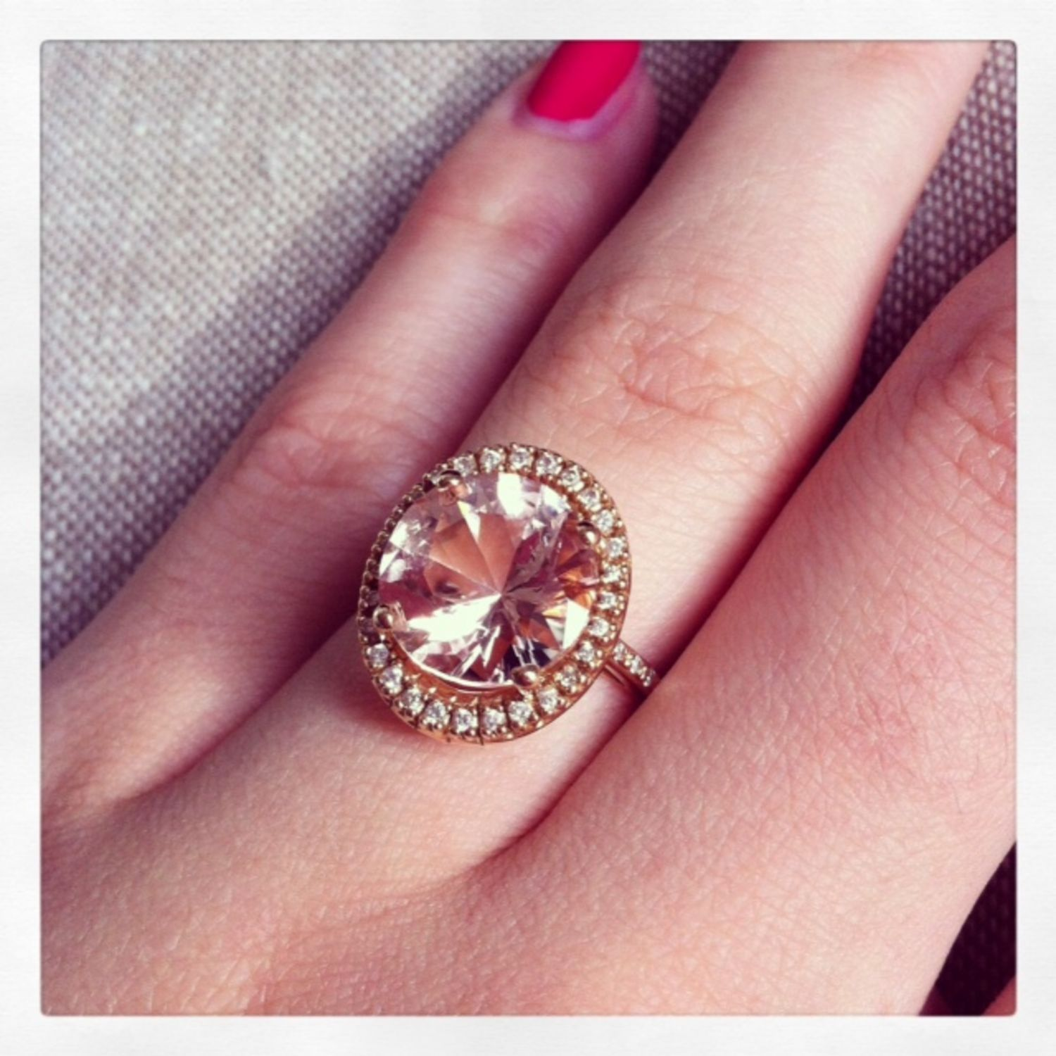 5 Real-Girl Engagement Rings With Enough Sparkle to Warm Your Frost ...