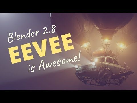 32 Blender 2 8 Eevee Is Awesome Youtube With Images