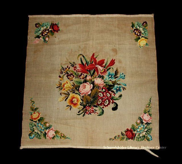A Beautiful Berlin WoolWork Panel ~ SLHC