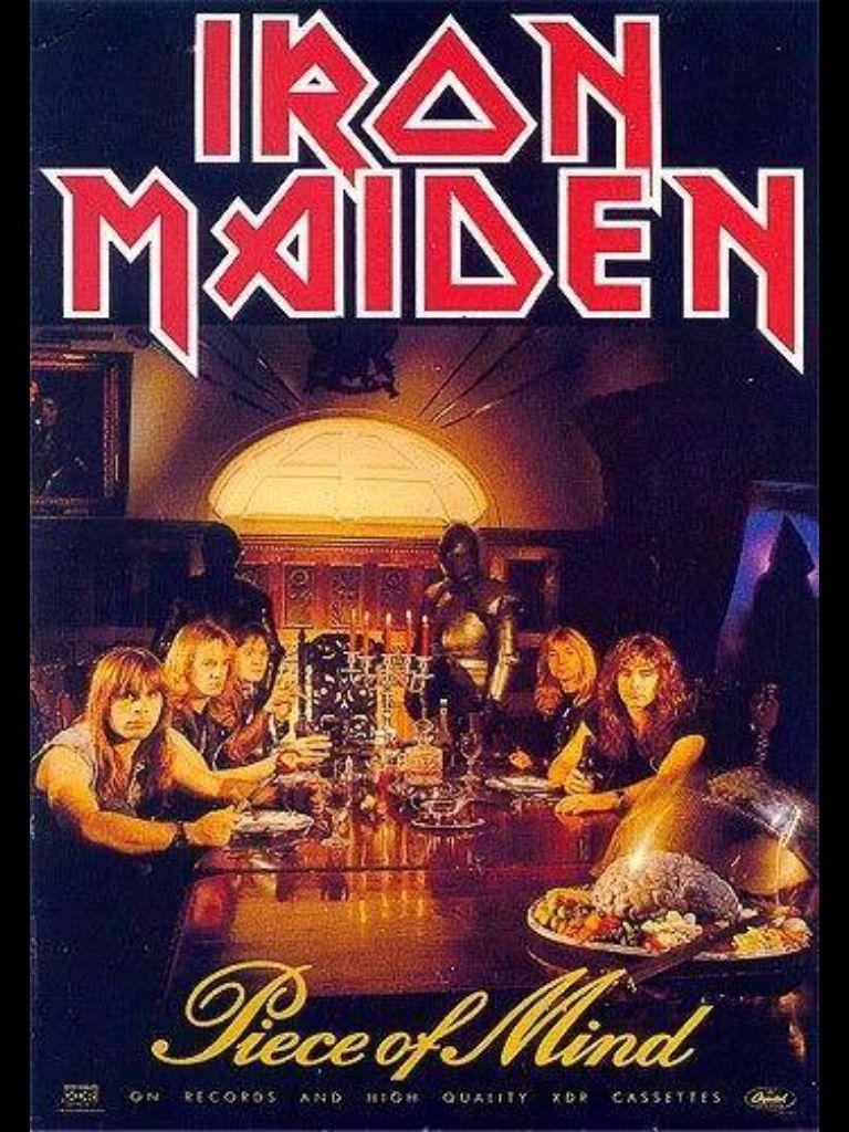 Piece Of Mind Classic Maiden Iron Maiden Iron Maiden Eddie Maiden