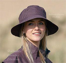 ladies target dry storm hat a waterproof wide brim rain hat ... 61897c8317e