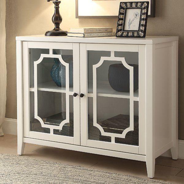 Ceara 2 Door Accent Cabinet Acme Furniture Doors And Storage