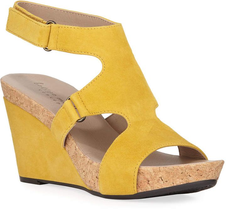 0cf094c6d1 Bettye Muller Concept Tobias Suede Wedge Sandals in 2019 | Products ...